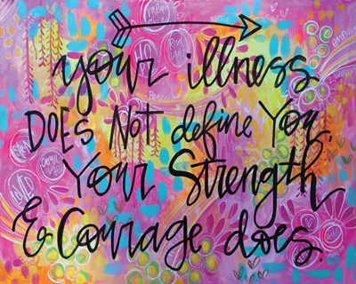 Strength and Courage art print by Valerie Wieners for $42.50 CAD