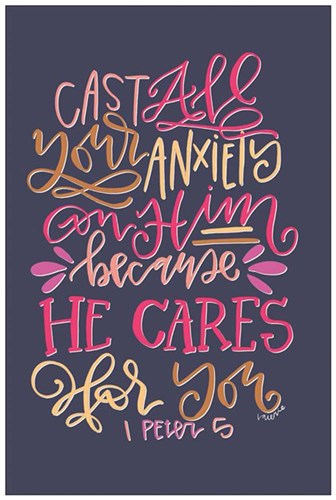He Cares art print by Valerie Wieners for $43.75 CAD