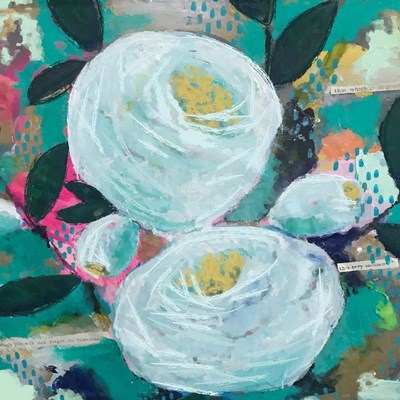 Graces Garden art print by Cindy Willingham for $48.75 CAD