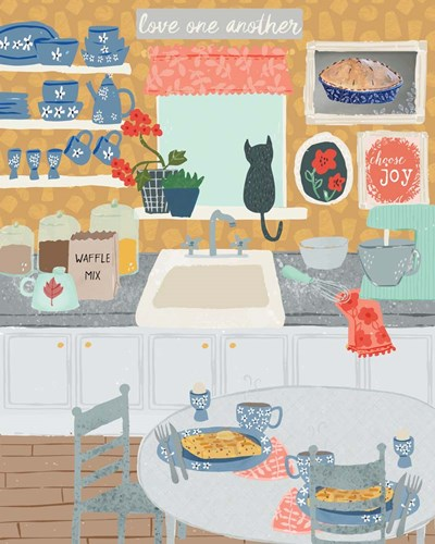 Grandma's Kitchen art print by Cindy Willingham for $56.25 CAD