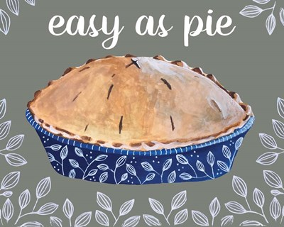 Easy As Pie art print by Cindy Willingham for $56.25 CAD