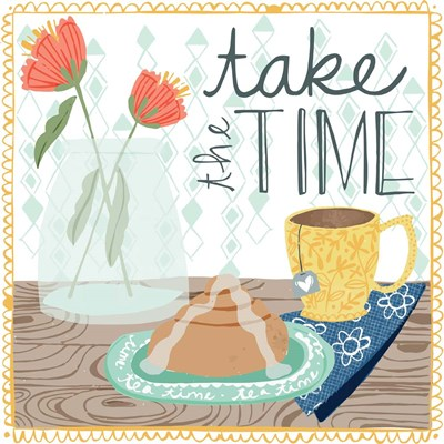 Take the time art print by Cindy Willingham for $48.75 CAD