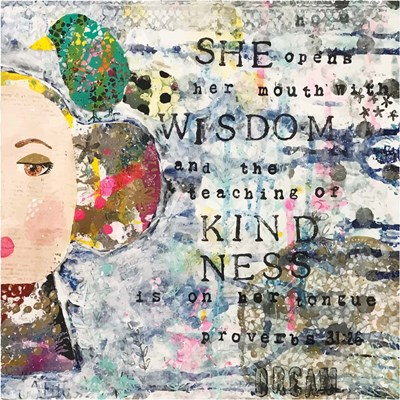 She I art print by Cindy Willingham for $48.75 CAD