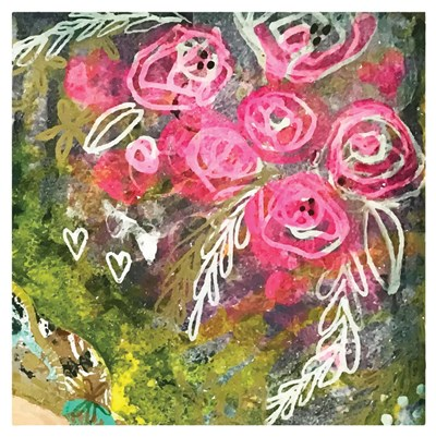 She Roses art print by Cindy Willingham for $48.75 CAD