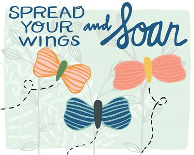 Spread Your Wings art print by Cindy Willingham for $42.50 CAD