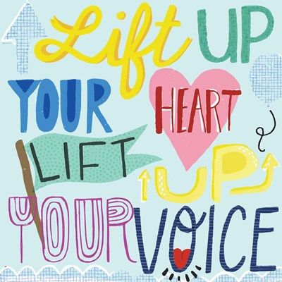 Lift Up Your Voice art print by Cindy Willingham for $48.75 CAD