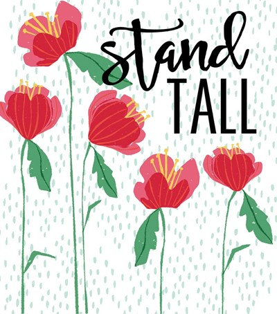 Stand Tall art print by Cindy Willingham for $52.50 CAD