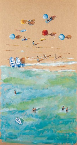 Between Sea and Sand I art print by Adolf Llovera for $51.25 CAD