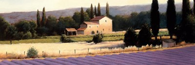 Lavender Fields Panel II art print by James Wiens for $42.50 CAD