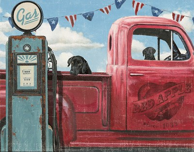 Lets Go for a Ride I Crop art print by James Wiens for $43.75 CAD