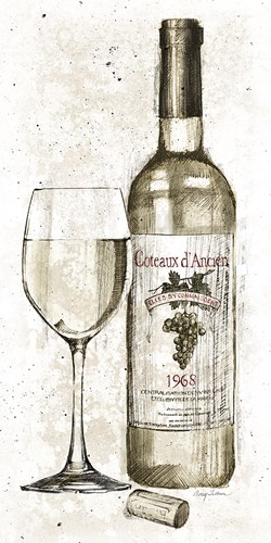 Pencil Wine II art print by Avery Tillmon for $55.00 CAD