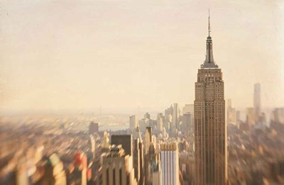 Empire State art print by Katherine Gendreau for $46.25 CAD
