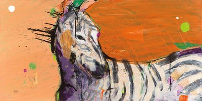 Zebra art print by Kellie Day for $55.00 CAD