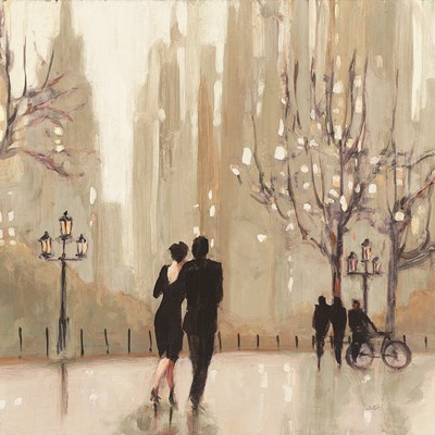 An Evening Out Neutral Square art print by Julia Purinton for $58.75 CAD