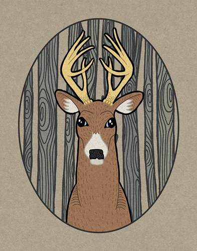 Forest Friends III art print by Elyse DeNeige for $37.50 CAD