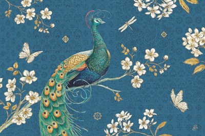 Ornate Peacock III Master art print by Daphne Brissonnet for $46.25 CAD