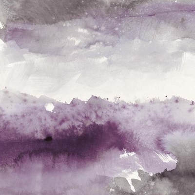 Midnight at the Lake II Amethyst and Grey art print by Mike Schick for $58.75 CAD