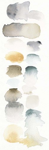 Watercolor Swatch Panel Neutral I art print by Elyse DeNeige for $70.00 CAD