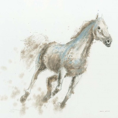 Stallion I art print by James Wiens for $58.75 CAD