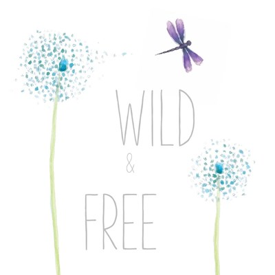 Wild and Free art print by Sarah Adams for $36.25 CAD