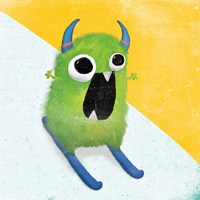 Xtreme Monsters II art print by Sarah Adams for $36.25 CAD