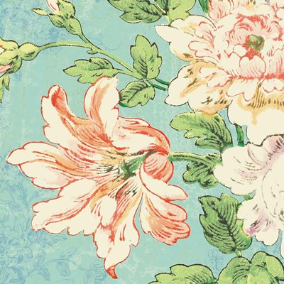 Cottage Roses VII Bright art print by Sue Schlabach for $36.25 CAD