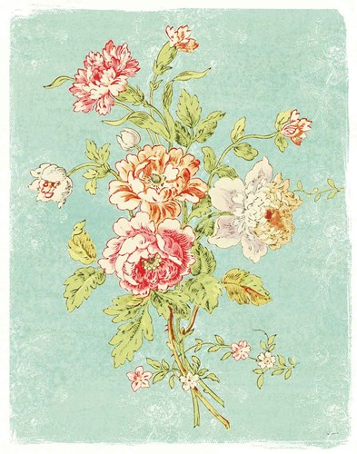 Cottage Roses VIII Bright art print by Sue Schlabach for $37.50 CAD