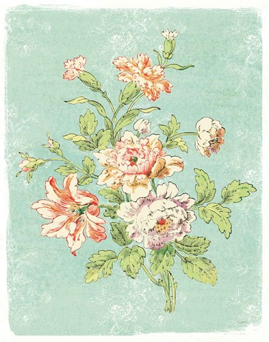 Cottage Roses IX Bright art print by Sue Schlabach for $37.50 CAD