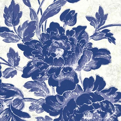 Toile Roses VI art print by Sue Schlabach for $36.25 CAD