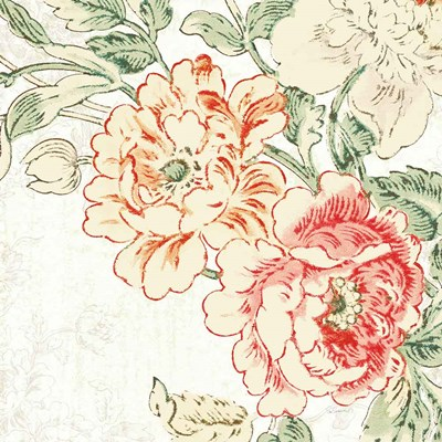 Cottage Roses V art print by Sue Schlabach for $36.25 CAD