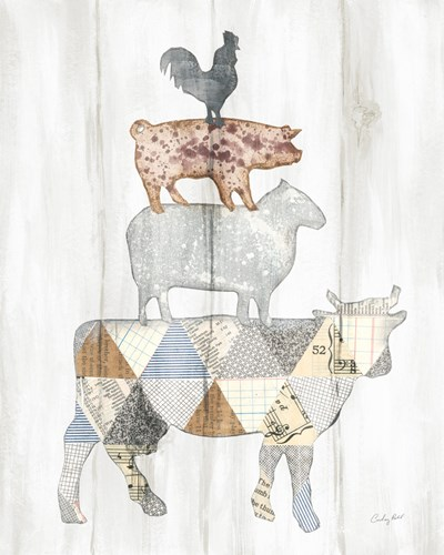 Farm Family I art print by Courtney Prahl for $58.75 CAD