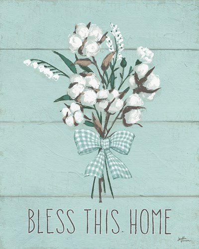 Blessed II Mint art print by Janelle Penner for $58.75 CAD
