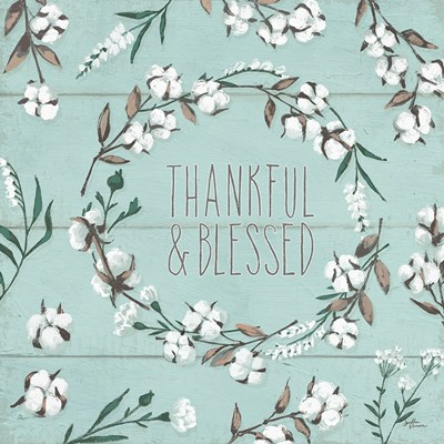 Blessed VI Mint art print by Janelle Penner for $51.25 CAD