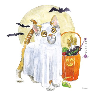 Halloween Pets V art print by Beth Grove for $58.75 CAD
