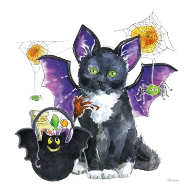 Halloween Pets VI art print by Beth Grove for $58.75 CAD