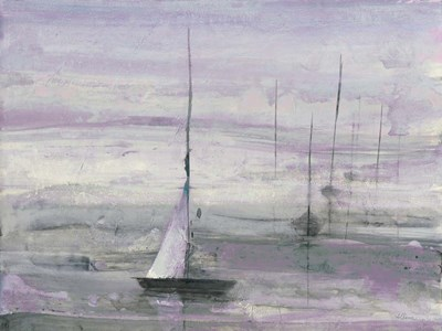 Ice Sailing Purple Crop art print by Albena Hristova for $42.50 CAD