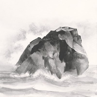 Solitary Rock art print by Chris Paschke for $51.25 CAD