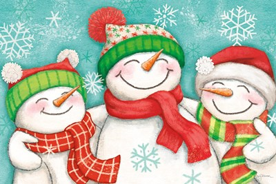 Let it Snow III art print by Mary Urban for $46.25 CAD