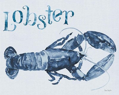 Beach House Kitchen Blue Lobster art print by Lisa Audit for $58.75 CAD