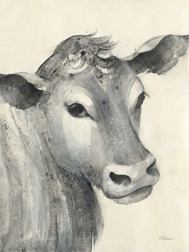 Moo art print by Albena Hristova for $42.50 CAD
