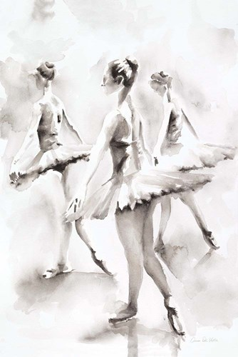 Three Ballerinas art print by Aimee Del Valle for $37.50 CAD