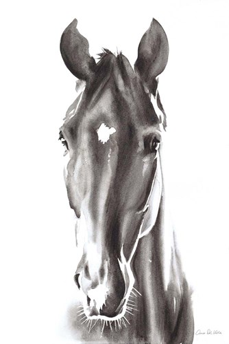 Le Cheval Noir art print by Aimee Del Valle for $46.25 CAD