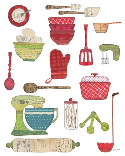 Cool Kitchen III art print by Courtney Prahl for $58.75 CAD