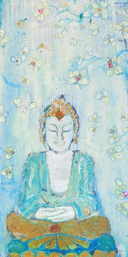 Buddha art print by Kellie Day for $43.75 CAD