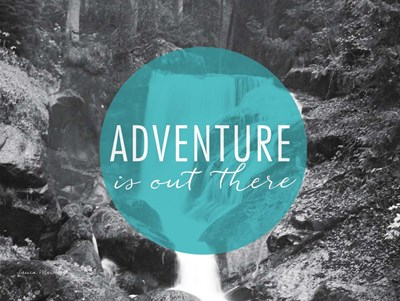 Adventure is Out There v2 art print by Laura Marshall for $30.00 CAD