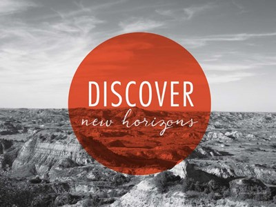 Discover New Horizons v2 art print by Laura Marshall for $42.50 CAD