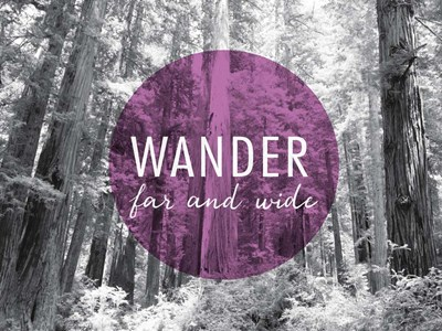 Wander Far and Wide v2 art print by Laura Marshall for $42.50 CAD