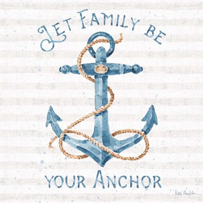 Nautical Life IV art print by Lisa Audit for $67.50 CAD