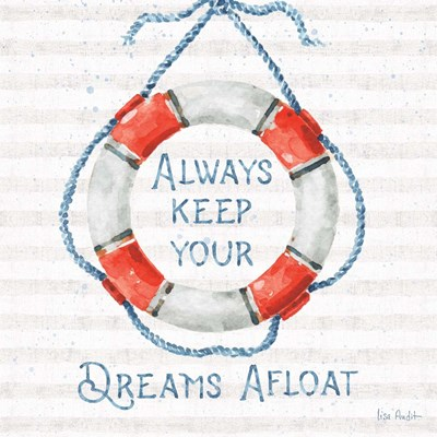 Nautical Life VI art print by Lisa Audit for $67.50 CAD