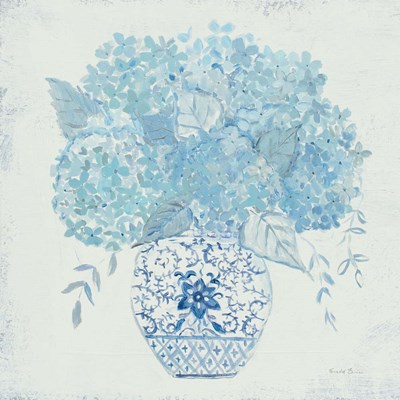 Hydrangea Fun art print by Farida Zaman for $58.75 CAD
